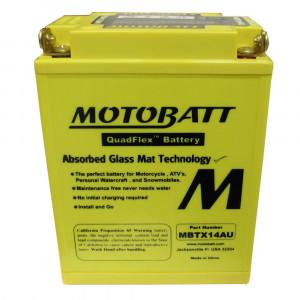 Motobatt MBTX14AU Underhållsfritt Mc Battteri