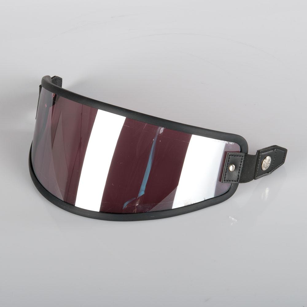 Nexx X.G100 Visir Iridium Röd