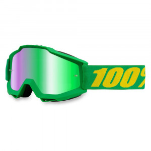 100% Accuri Forrest Crossglasögon Grön Spegel
