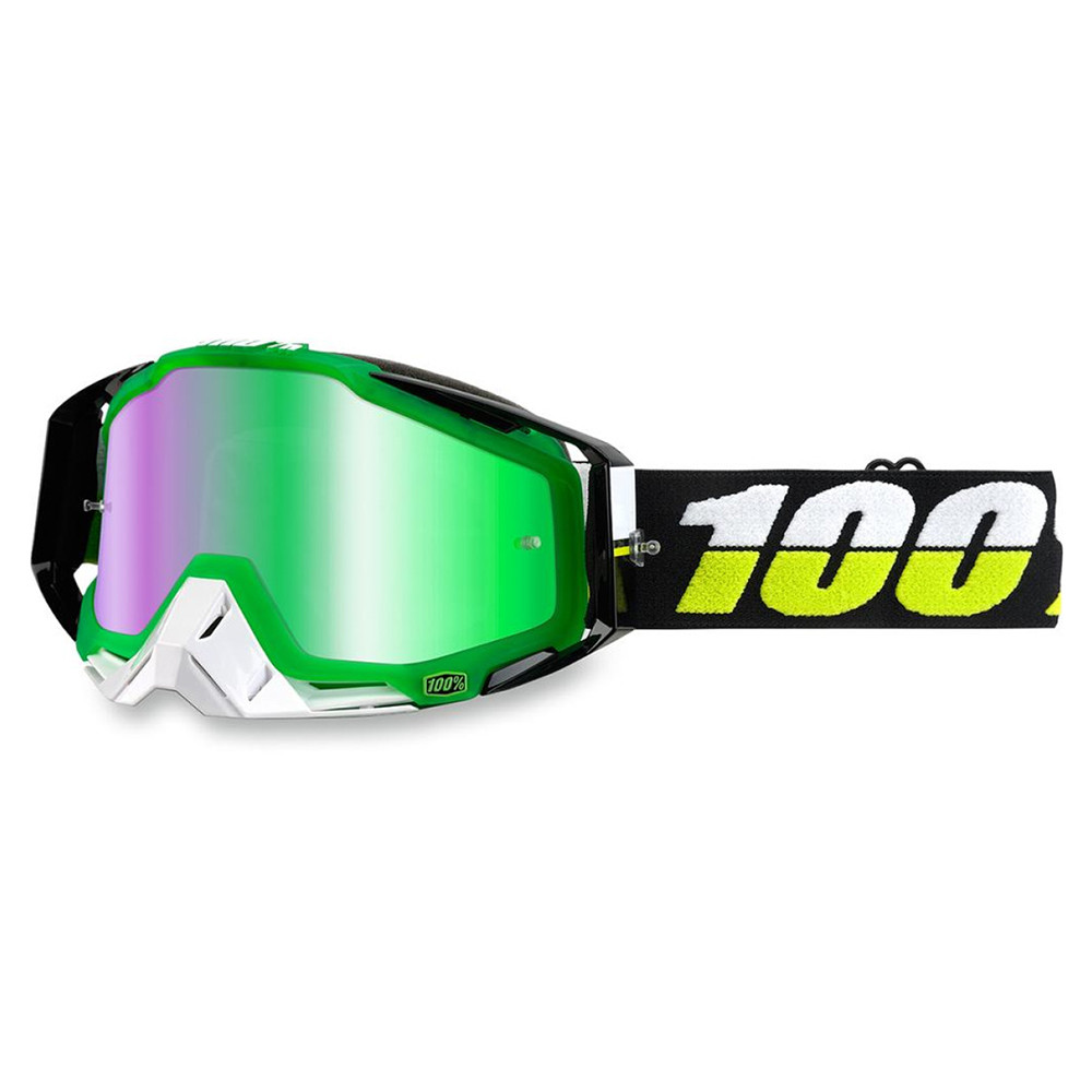 100% Racecraft Simbad Crossglasögon Grön Spegel
