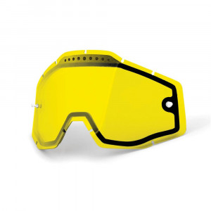 100% Replacement Vented Dual L Yellow