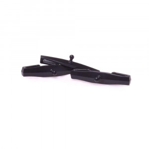 100% Tear-off Strap Pin 3 Pack Black