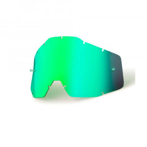 100% Youth Replacement Lens Green MIrror