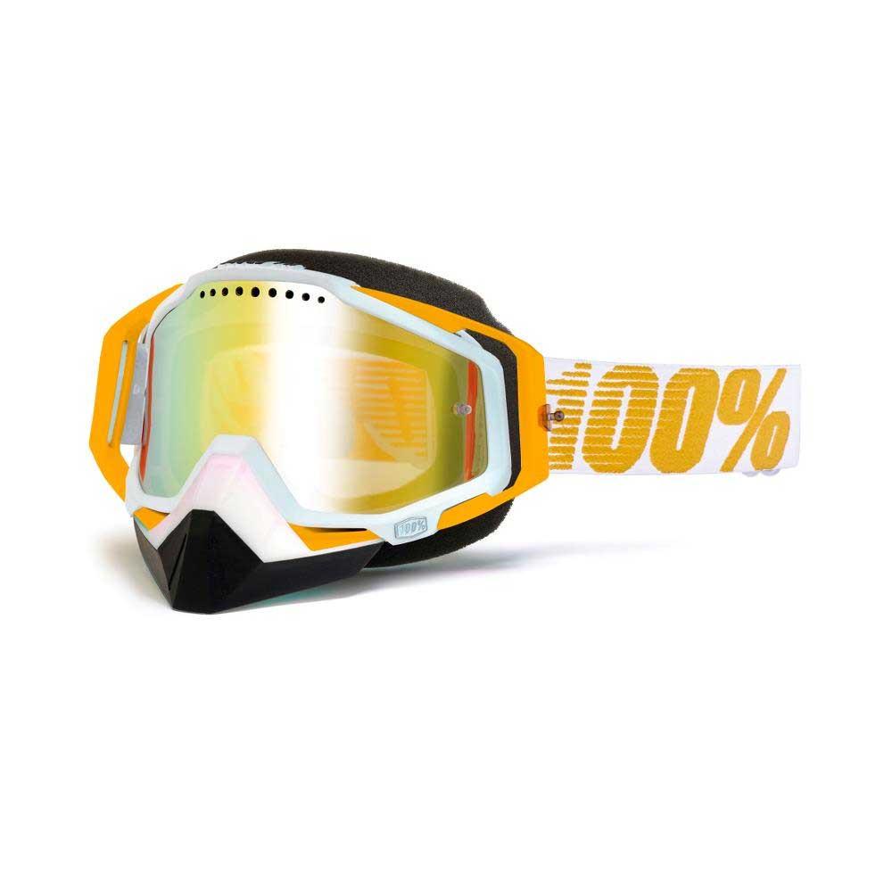 100% Racecraft Snow Goggle Mir Mandarina