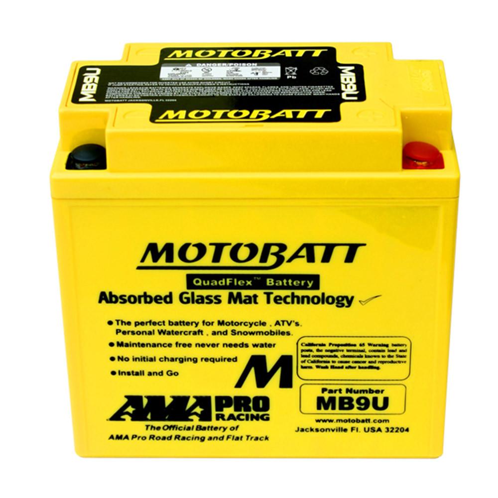 Motobatt MP9U Mc batteri Underhållsfritt