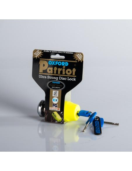 Oxford Mc lås Patriot std pin