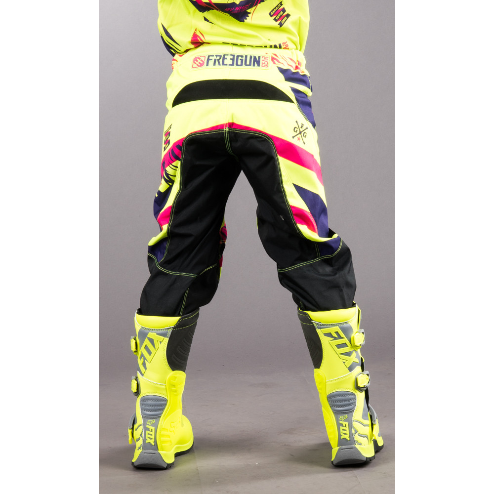 Shot Freegun Crossbyxa Junior Yellow/Magenta