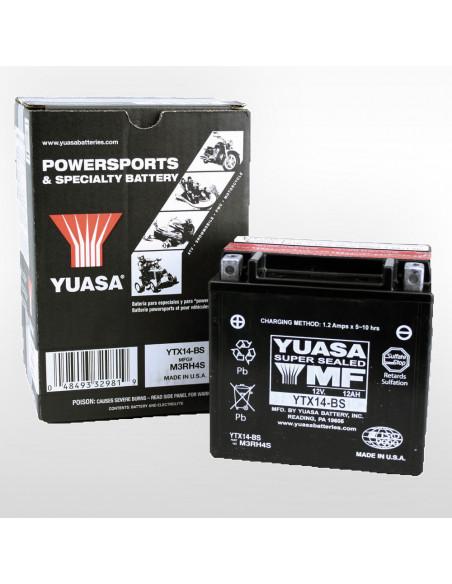 Yuasa Batteri YTX14-BS