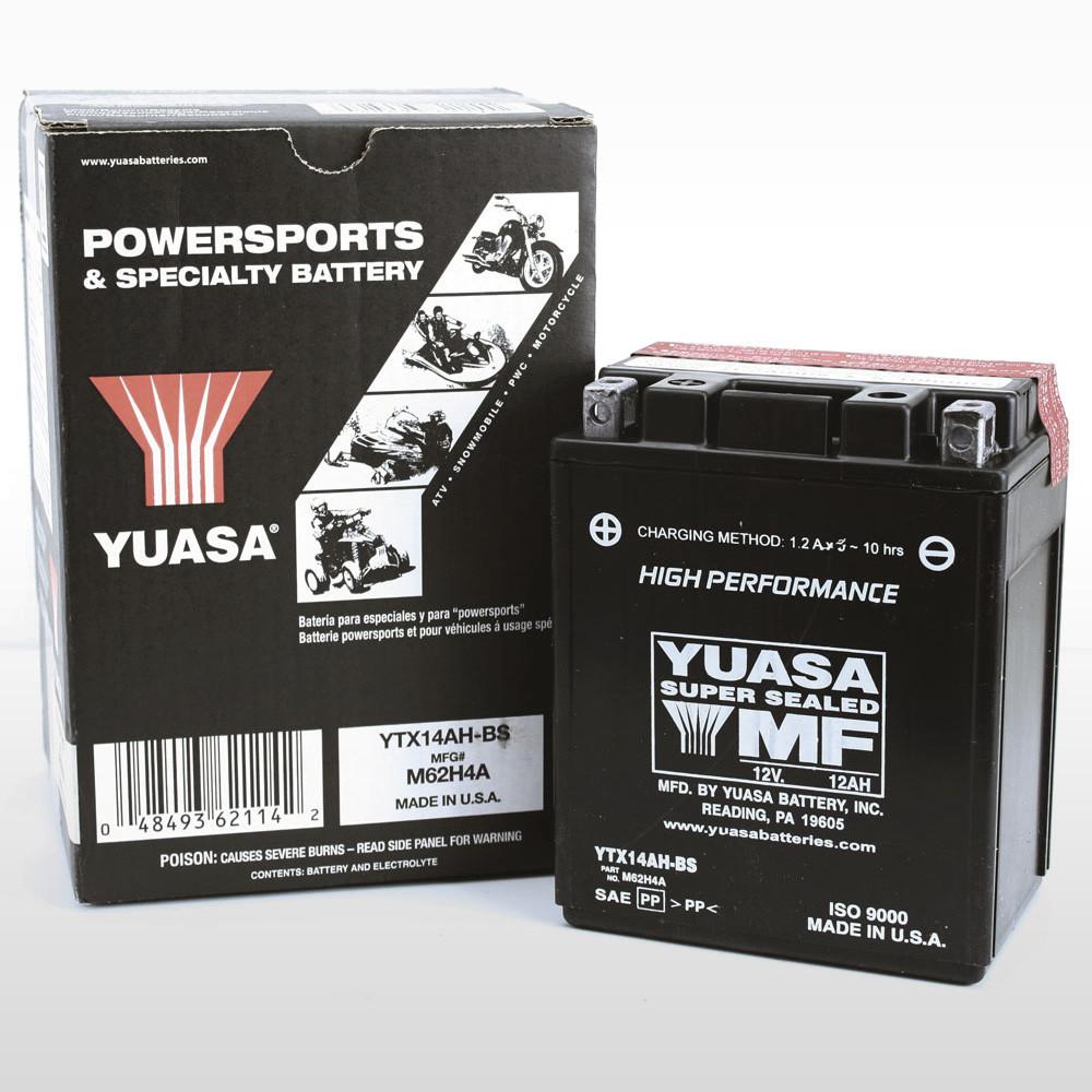 Yuasa Batteri YTX14AH-BS