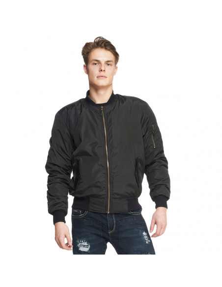 Sweep Bomber Mc Kevlar jacka Svart