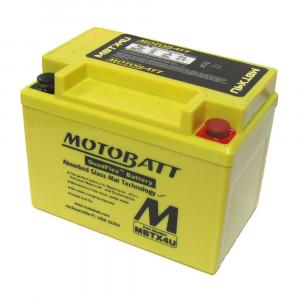 Motobatt MBTX4U / YB4L-B Underhållsfritt Mc Batteri