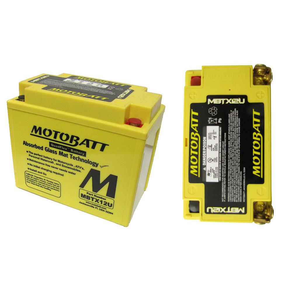 Motobatt MBTX12U Underhållsfritt Mc Battteri