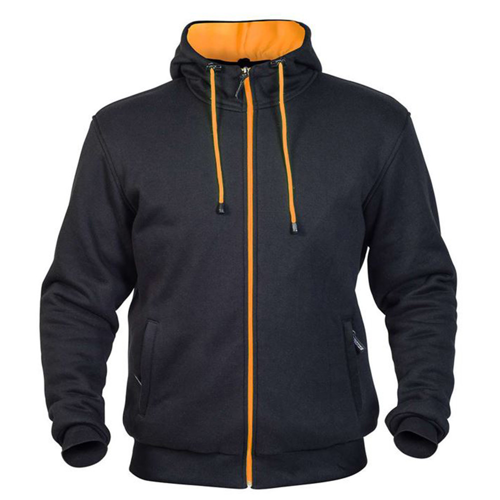Twice Mc Hoodie Kevlar Svart/Orange