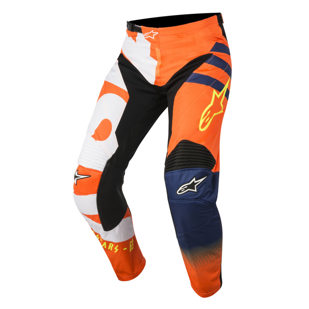 Alpinestars Crossyxor Racer Braap Orange/Vit/Blå/Fluo