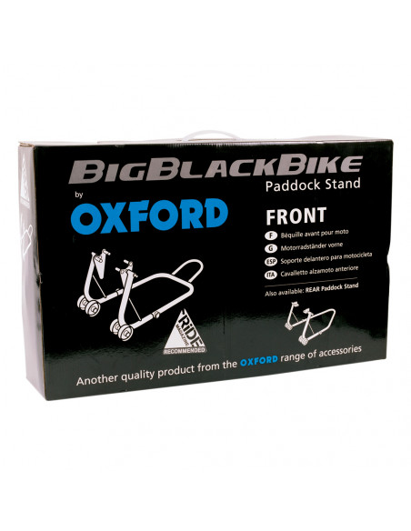 Oxford Depåstöd Big Black Fram