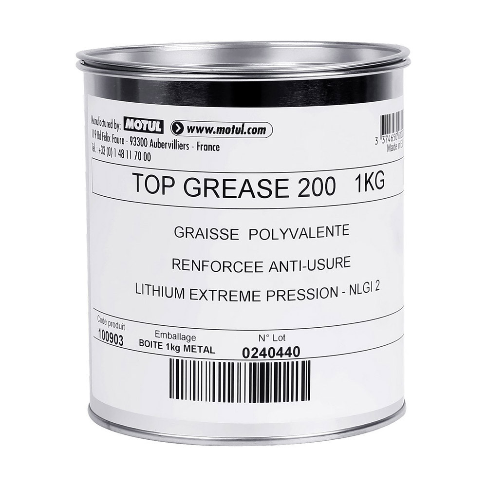 Motul Top Grease 200 NGLI (Burk) 1 kg