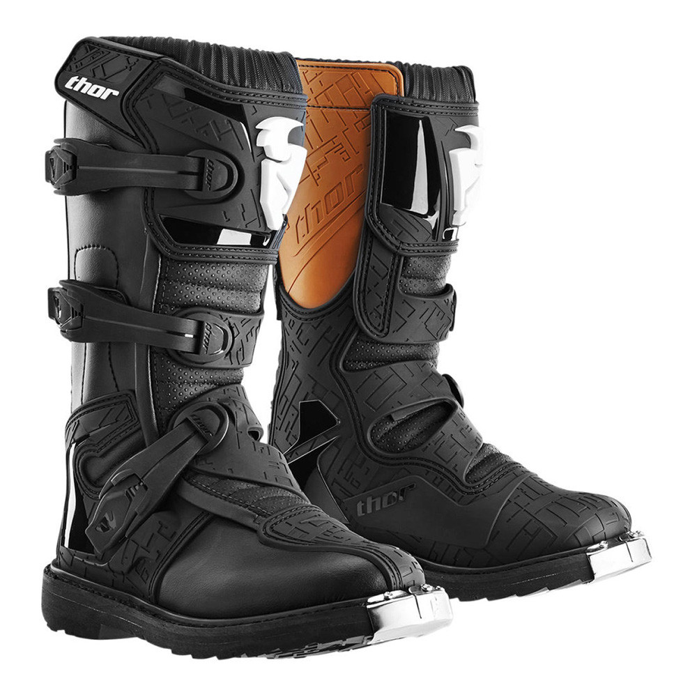 YOUTH BLITZ S6 OFFROAD BOOTS SVART