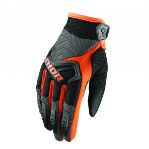 YOUTH SPECTRUM S8Y CROSS HANDSKAR ORANGE/SVART
