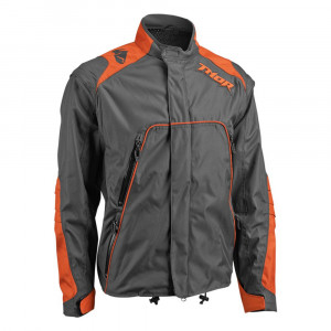 Thor 2018 Range Gear Jacka Grå/Orange