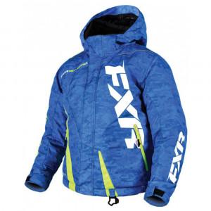 FXR Boost Damjacka Blue Digi/ Hi-Vis