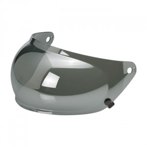 BILTWELL GRINGO S BUBBLE VISOR CHROME