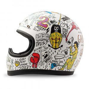 DMD RACER HELMET TRIBAL MC HJÄLM