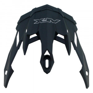 AFX PEAK SHIELD FX 41 DUAL SPORT FLAT BLACK