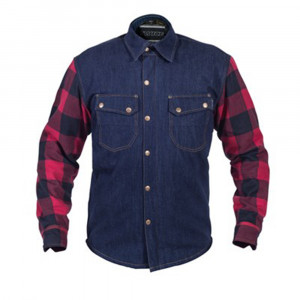 FLANELL DENIM SHIRT BILLY-BOB HERR S TWICE