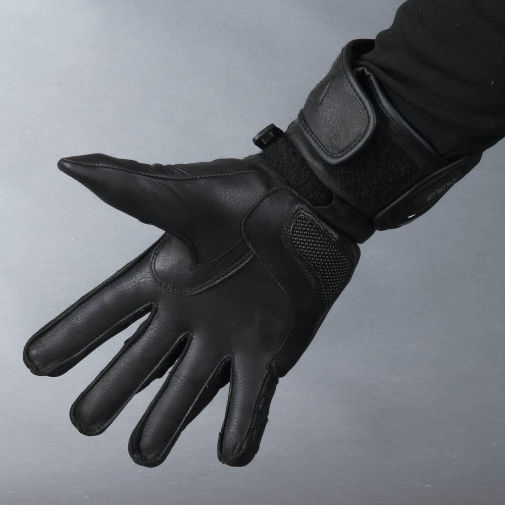 Held Revel Ii Svart Mc Skinn Handske