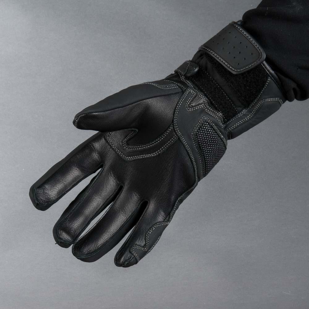 Held Travel 5 Svart Mc Skinn Handske