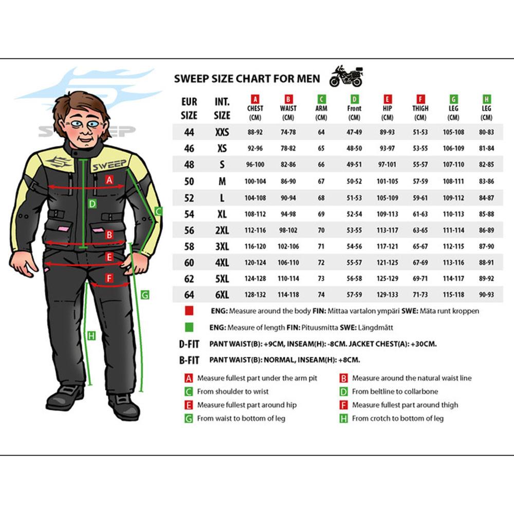Sweep Textiljacka Challenger Evo Vattentät, svart