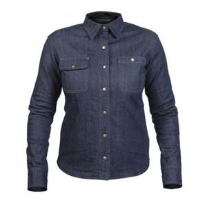 Twice Dusty Jeans Kevlarskjorta Blå Dam