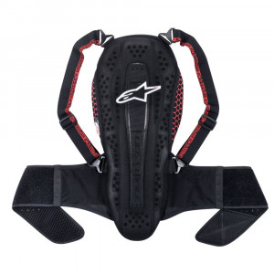 Alpinestars Nucleon Touring Mc Ryggskydd Svart