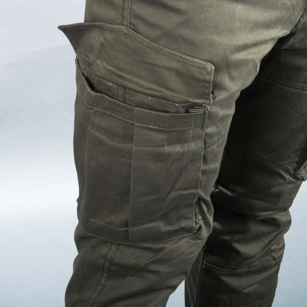 React Hawker Cargo Full Kevlar Cargo Jeans Grön
