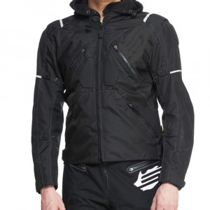 Sweep Textiljacka Stunt Vattentät, svart/mörkt grå