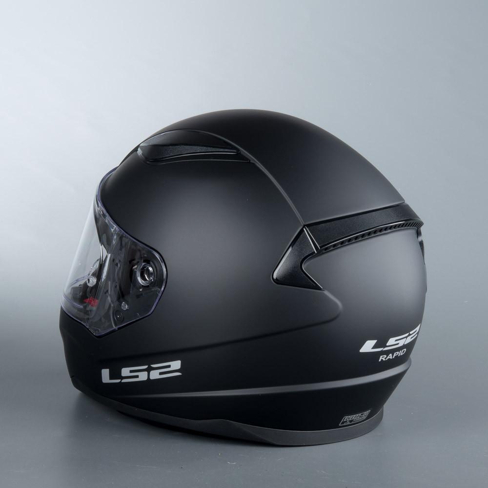 LS2 Hjälm FF353 RAPID matt svart c5e629f5cfbb3