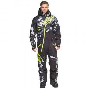 Sweep Snowcore Evo 1 piece suit svart/camo