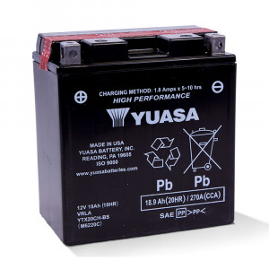 YUASA batteri YTX20CH-BS (CP) Inkl syra