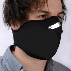Oxford Face Mask Neoprene Svart