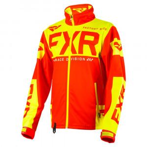 FXR Cold Cross RR Skoterjacka Nuke Röd/Hi Vis
