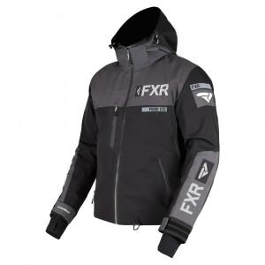 FXR Helium Pro X Skoterjacka Svart/Charcoal/Grå