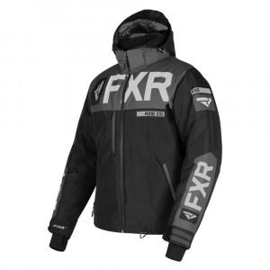 FXR Helium X Skoterjacka Svart/Charcoal/Grå
