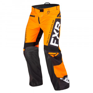FXR Cold Cross RR Skoterbyxa Orange/Svart/Vit