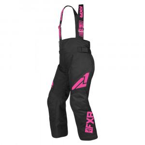 FXR Ch Clutch Skoterbyxa Svart/Elec Pink