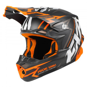 FXR Blade 2.0 Vertical Helmet Svart/Orange