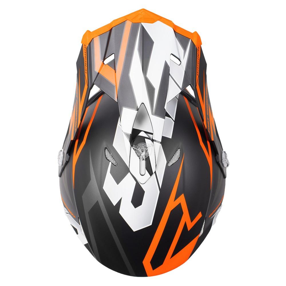 FXR Blade 2.0 Vertical Helmet Svart/Orange