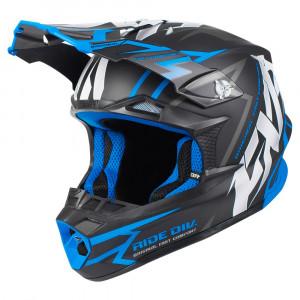 FXR Blade 2.0 Vertical Helmet Svart/Blå
