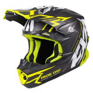 FXR Blade 2.0 Vertical Helmet Svart/Hi Vis