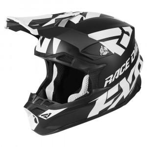 FXR Blade 2.0 Race Div Helmet Svart/Vit