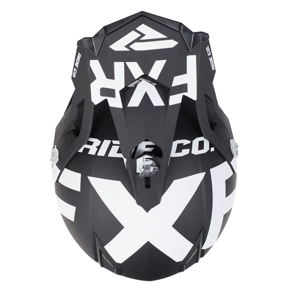 FXR Boost Clutch Helmet Svart/Vit